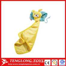 Bär Spielzeug Baby beschwichtigen das Handtuch gelben Kaninchen Baby beschwichtigen das Handtuch