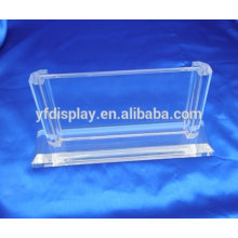 clear plastic table stand drink menu holder
