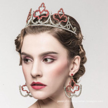 Imitation Pearl Crown Alloy Bridal tiara Weeding Tiaras And Crown