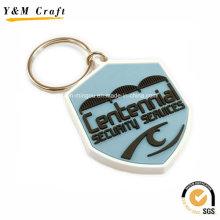 Porte-clés en PVC souple personnalisé pour la publicité Ym1118