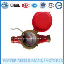 """1/2""-""1"" Impulse Transfer Reading Remote Hot Type Water Meter"
