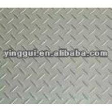 5016 placa de xadrez de alumínio