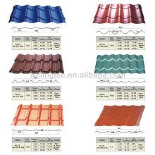 modular steel roof tile