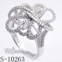 925 jóias de prata com zircônia cúbica para mulheres (s-10263)