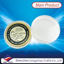 Moneda de oro y plata doble chapado de metal militar de las monedas (LZY1300032)
