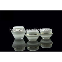15ml 30ml 50ml Luxury Transparent Cosmetic Acrylic Cream Jar
