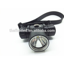 High Quality Stepless Dimming Diving Flashlight Max 1000-Lumen Cree XM-L T6 high power cree led headlamp