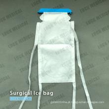Saco de gelo médico para embalagem de gelo de primeiros socorros em lesões