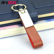 Porte-clés de concepteur en cuir porte-clés, boucle de cuir porte-clés