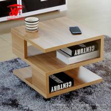 Precio de mesa de centro cuadrado de madera pequeño