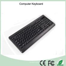 Diseño elegante Teclado de tamaño normal para computadora (KB-1802)