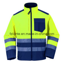 2016 Reflective Workwear High Visibility Safety Jacket