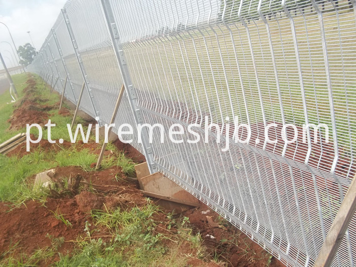 Welded Mesh Panel Fence