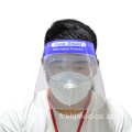 Casque de protection facial jetable anti-buée de protection médicale