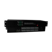 Precio de fábrica de HongRui precio de fábrica del convertidor de fibra óptica pcm 30 canales multiplexor