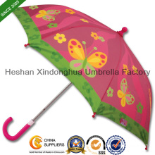"19"" Quality Fiberglass Straight Kid Umbrellas for Children (KID-0019ZF)"