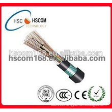Fiber optic GYTS underground cable single multimode fiber optic communication cable