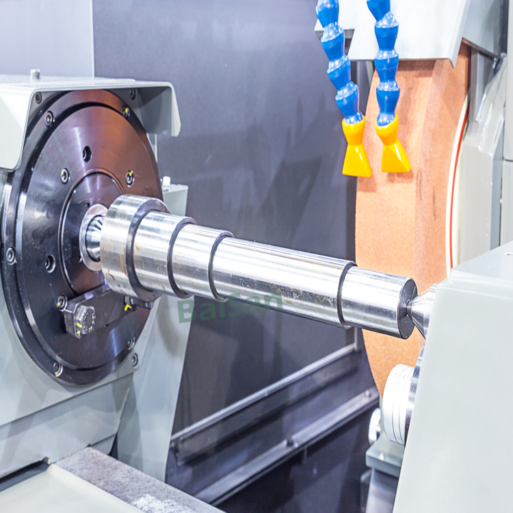 Machining a Tapered Shaft and Grinding Mandrel