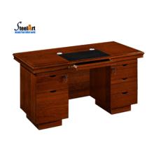 2018 последний офисный стол дизайн деревянные компьютерный стол