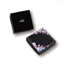 Boîtes à logo personnalisé Boîte à pendentif de bijoux d'emballage