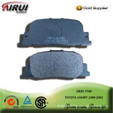 almofada de freio semi metálica para toyota cmary 1996-2001
