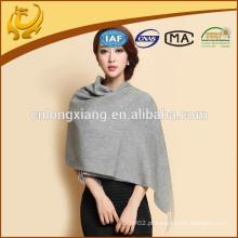 Fábrica de China 100% cachemira lenço de mulheres solteiras macio e estola longa Shawl Lady Wrap Silenciador de caxemira