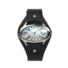 Luxury fashion waterproof alloy one hand watch