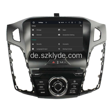 Android 6.0 Ford Focus 2012 Auto-Audio-Stereo
