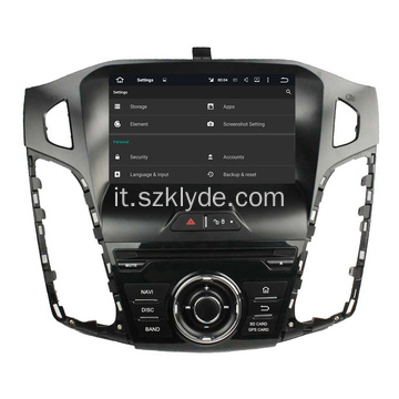 Autoradio Android 6.0 Ford Focus 2012