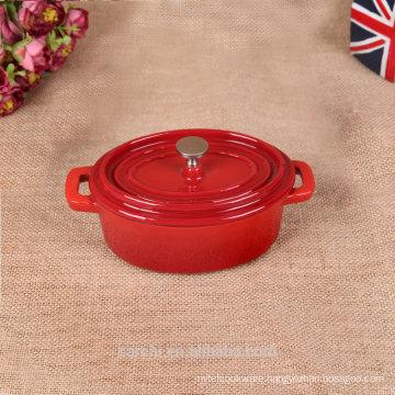 metal la cocotte cast iron enameled pot