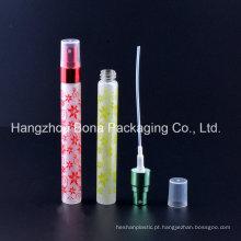 Frasco de vidro de frasco do perfume 10ml com pulverizador
