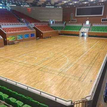 Enlio Indoor PVC Vinyl Basketballplatz Bodenbelag 7,0 mm