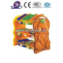 Estante de almacenamiento de cubos de plástico Hotsale para niños