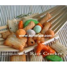 Hot product corn snacks food korean round rice cracker recipe
