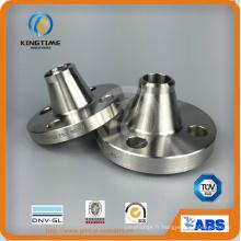 Bride forgée de Wn de cou de soudure d'acier inoxydable avec le CE (KT0281)