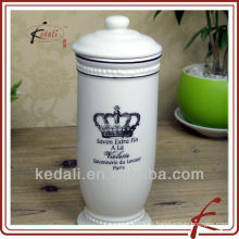 Caja de tejido facial de cerámica