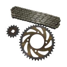 Transmission Kit Motorcycle Chain and Sprocket Kits Roda Dentada Pinion Sprocket Kit