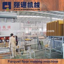 2800T Laminatboden Heißpressmaschine / Parkettboden Produktionslinie