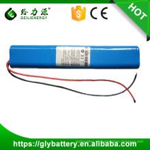 12v 10000mAh batería de litio 18650 de 10.4Ah