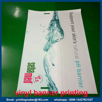 PVC Vinyl Banner UV Printing with Double Stitched