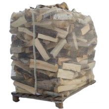 Breathable Firewood Bulk Mesh Big Bag For Packing Wood 1 Ton Ventilated Firewood Bags