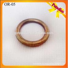 OR05 accesorios de metal para bolsas de cuero, o anillo de metal, decoración de hardware bolso