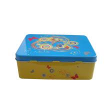 Paquet de promotion cosmétique Boîte en étain