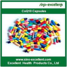 Alta qualidade coenzima Q10 Softgels Coq10 cápsulas