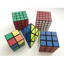Speed Cube 3X3 Stickerless Coloré édition améliorée Smooth Magic Cube