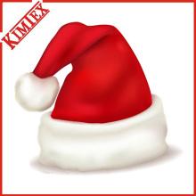 Hochwertiger Fleece Weihnachten Weihnachtsmann Hut