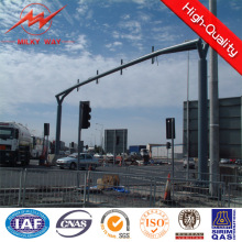 Standard Height 6.5m Traffic Light Pole with Hot DIP Galvanization
