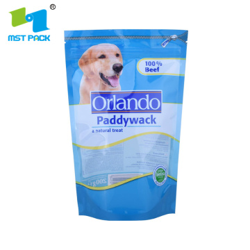 Ziplock Bag Freeze Torkad Pets Food Pouch
