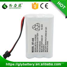 Baterias recarregáveis BT446 3.6V 900mAh de NIMH 5 / 4AAA para UNIDEN