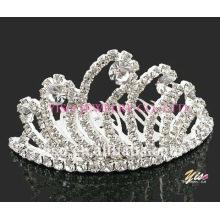 bridal rhinestone tiara